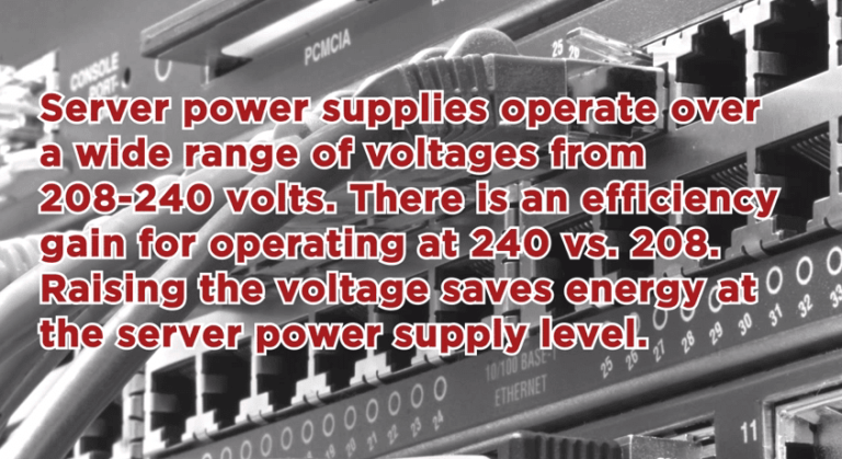 Alternative Voltages in the Data Center - Q and A